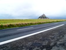 Free Mont Saint Michel Stock Image - 1148071