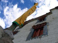 Free Buddhist Flagstaff Stock Image - 1149141