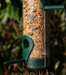 Free Birdfeeder Royalty Free Stock Photography - 1149487