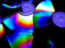 Free Rainbow Disc Stock Image - 1149551