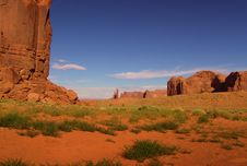 Free Monument Valley Royalty Free Stock Photo - 1149595