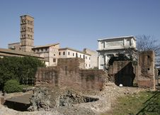 Free Roman Forum Royalty Free Stock Image - 1149806