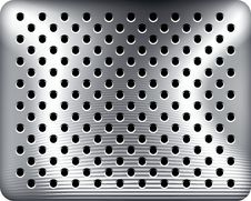Free Punched Metal Royalty Free Stock Photos - 11401838