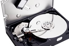 Free HDD Inside Stock Photo - 11407270