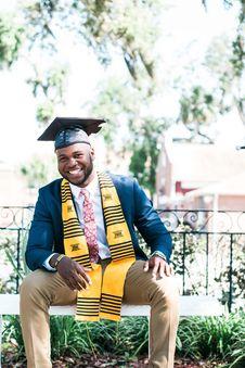 Free Photo Of Man Wearing Graduation Cap Stock Photos - 114021303