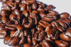 Free Close-up Photography Of Roasted Coffee Beans Stock Photography - 114021602