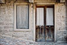Free Window, Wall, Door, Wood Stock Image - 114130381