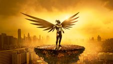 Free Mythology, Sky, Computer Wallpaper, Cg Artwork Royalty Free Stock Images - 114130479