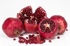 Free Natural Foods, Fruit, Pomegranate, Superfood Stock Photos - 114130873