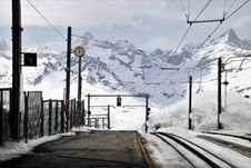 Free Track, Transport, Snow, Mountain Range Stock Photos - 114131083