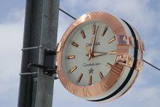 Free Clock, Metal, Sky, Watch Stock Photos - 114131093