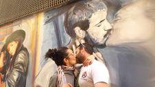 Free Kiss-1361693 Stock Image - 114194341