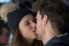 Free Kiss-596093 Royalty Free Stock Images - 114194429