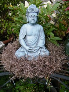 Free Buddha-in-the-garden-2821687 Stock Photography - 114194602