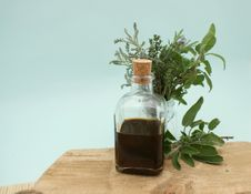 Free Glass Bottle, Herb, Plant, Bottle Royalty Free Stock Image - 114227176