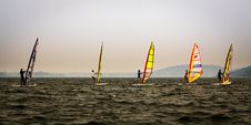 Free Windsurfing, Water Transportation, Sea, Sail Stock Photo - 114227790