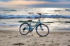 Free Beach, Bicycle, Sea, Mode Of Transport Royalty Free Stock Image - 114228106