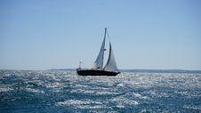 Free Sail, Sailboat, Water Transportation, Sea Royalty Free Stock Image - 114228126