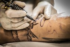 Free Tattoo, Hand, Joint, Finger Stock Image - 114228171