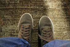 Free Footwear, Shoe, Outdoor Shoe, Grass Stock Images - 114296574