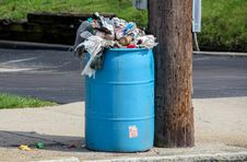 Free Water, Waste Container, Waste, Waste Containment Royalty Free Stock Photography - 114296787