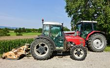 Free Tractor, Agricultural Machinery, Vehicle, Motor Vehicle Stock Photos - 114296993