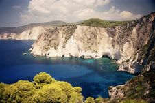 Free Coast, Cliff, Crater Lake, Promontory Royalty Free Stock Images - 114297739
