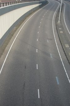Free Empty Highway Royalty Free Stock Photo - 11438165