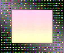 Free Disco Picture Frame Royalty Free Stock Photography - 11439227