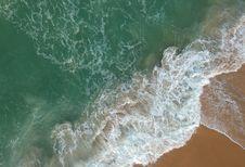 Free Bird S Eye View Of Seashore Royalty Free Stock Photos - 114321108