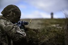 Free Selective Photography Of Sniper Royalty Free Stock Image - 114321236