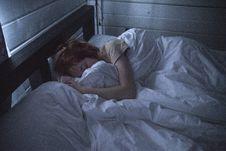 Free Woman Sleeping Stock Images - 114378534