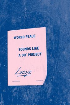 Free World Peace Printing Paper Stock Photos - 114378613