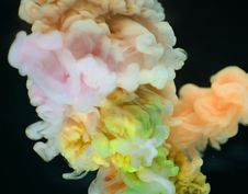 Free Close-up Photography Multicolored Smokes Stock Photography - 114442852