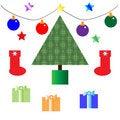 Free Christmas Icons Stock Photos - 11456013