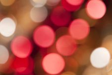 Free Beautiful Abstract Of Holiday Lights Stock Photos - 11456603