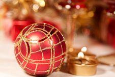 Free Christmas Ball Royalty Free Stock Image - 11456686