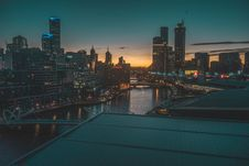 Free City Buildings During Sundown Stock Photo - 114603250
