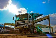 Free White Heavy Equipment Stock Photos - 114603353