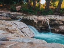 Free Photography Of Water Flow Near Rocks Royalty Free Stock Image - 114677516