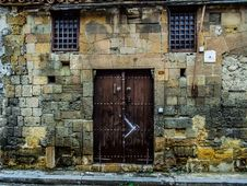 Free Wall, Door, Window, Facade Royalty Free Stock Images - 114712099