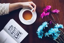 Free Flower, Cup, Coffee Cup Stock Photos - 114712513