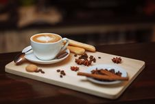 Free Espresso, Coffee, Wiener Melange, Coffee Cup Stock Photography - 114712592