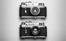 Free Camera, Black And White, Digital Camera, Cameras & Optics Stock Image - 114713401