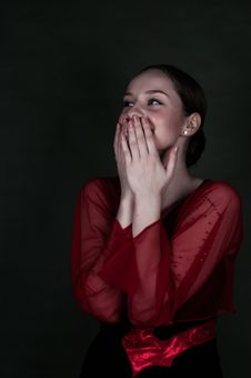 Free Red, Beauty, Girl, Emotion Royalty Free Stock Photo - 114713865