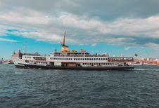 Free Ship, Passenger Ship, Water Transportation, Ferry Stock Image - 114714311