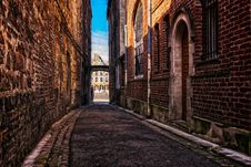 Free Alley, Infrastructure, Town, Wall Royalty Free Stock Photos - 114789918