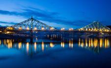 Free Bridge, Reflection, Landmark, Sky Royalty Free Stock Images - 114790159