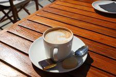 Free Coffee, Espresso, Caffè Macchiato, Café Au Lait Royalty Free Stock Images - 114790319