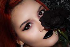 Free Eyebrow, Beauty, Lip, Close Up Stock Image - 114790421